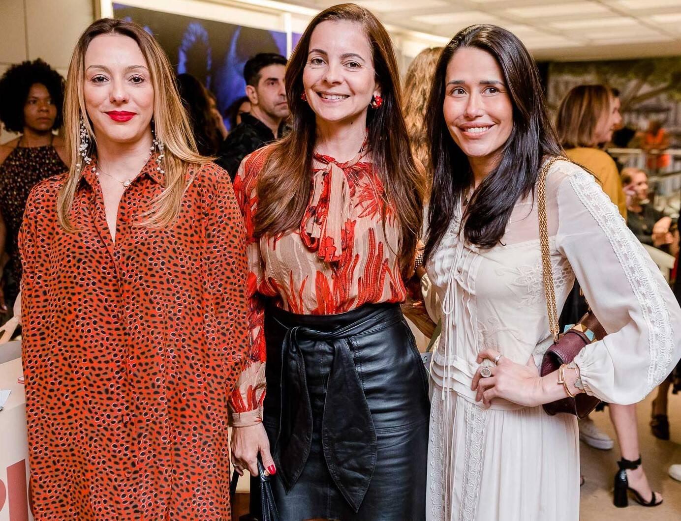 Camila Garcia, Isabela Menezes e Paula Severiano Ribeiro /Foto: Bruno Ryfer