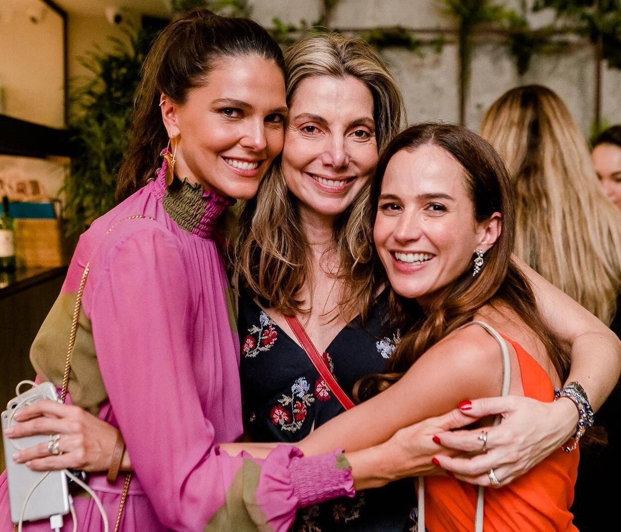 Daniela Sarahyba, Renata Reis e Joana Nolasco /Foto: Bruno Ryfer