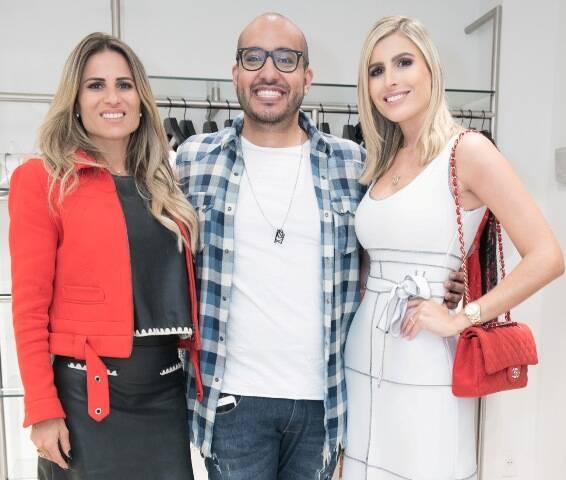 Ana Paula Barbosa, Eduardo Lima e Dandynha Barbosa