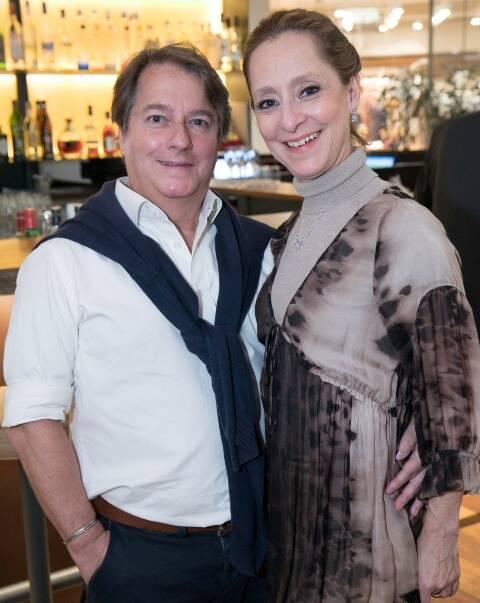 Ernani Fonseca e Ana Botafogo