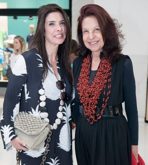 Patricia Brandão e Glaucia Zacharias