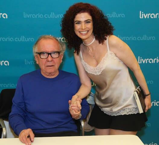 Washigton Olivetto e Patricia Lucchesi
