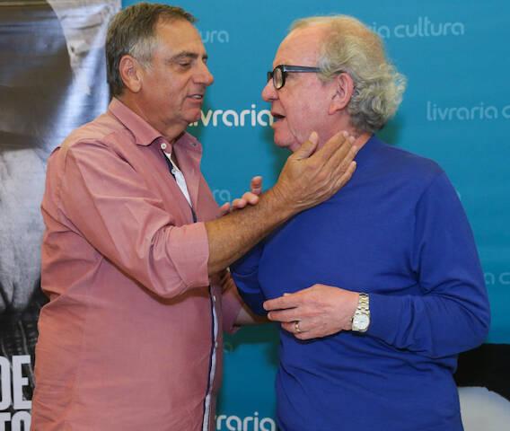 Ricardo Scalamandre e Washigton Olivetto