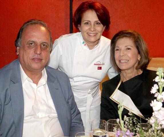 horta jardim associados : horta jardim associados:Luiz Fernando Pezão, Conceição Neroni e Maria Lucia Jardim