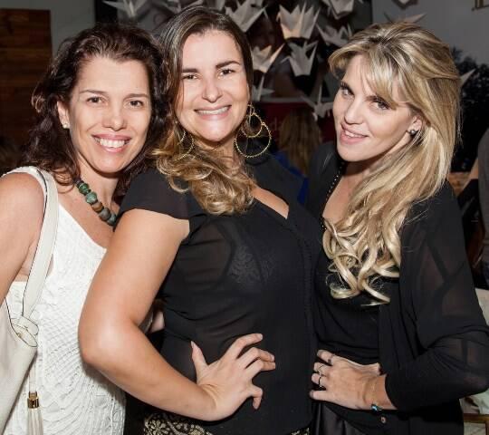 Carla Baroncini, Georgiana Godinho e a DJ Scarlet