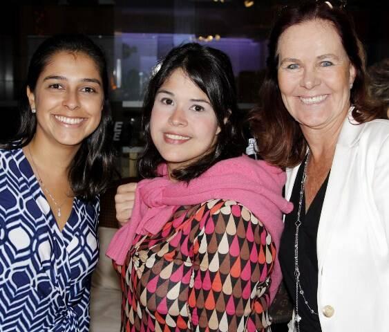 Karina, Giovanna e Xênia Goes
