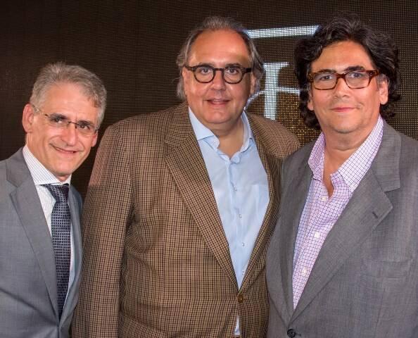 Roberto Cohen, José Antônio de Castro Bernardes e Antônio Neves da Costa
