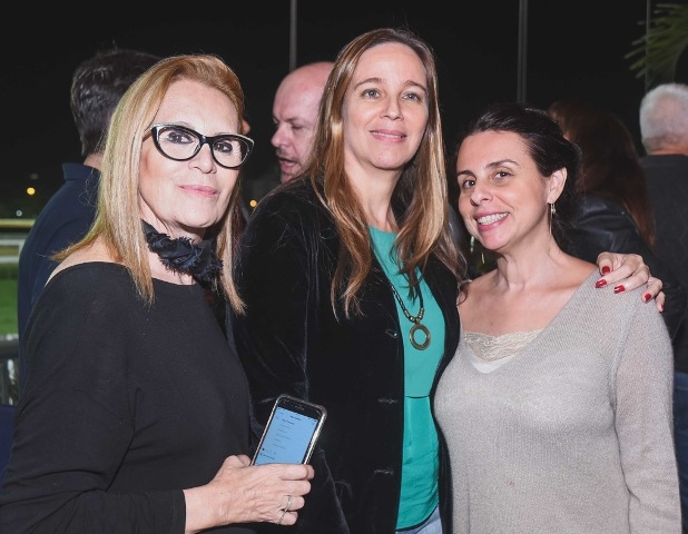 Fátima Martins, Maria Helena Esteban e Helen Pomposelli
