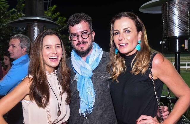 Joana Nolasco, Bruno Dieguez e Flávia Pires