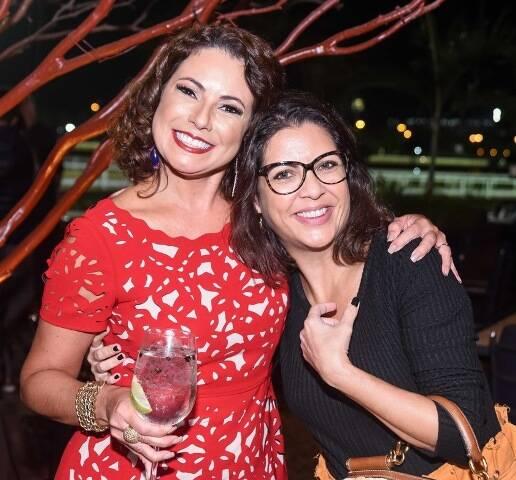 Renata Araújo e Thalita Rebouças