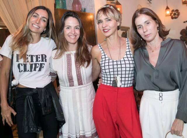 Andréa Santa Rosa, Malu Barreto, Zazá Piereck e Nazaré Metsavath