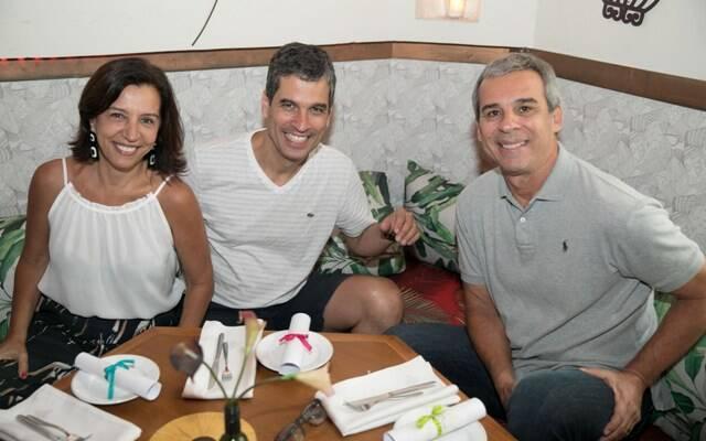 Denise Tanure, Celso Alvim e Pedro De Lamare