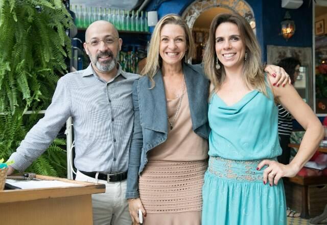 Juarez França, Clarisse Carvalho e Preta Moyses
