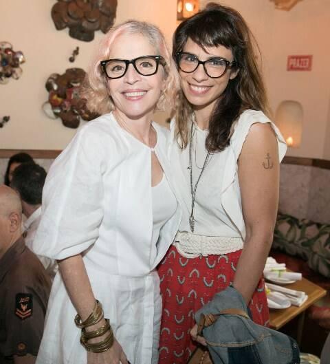 Olívia Byington e Maria Ribeiro