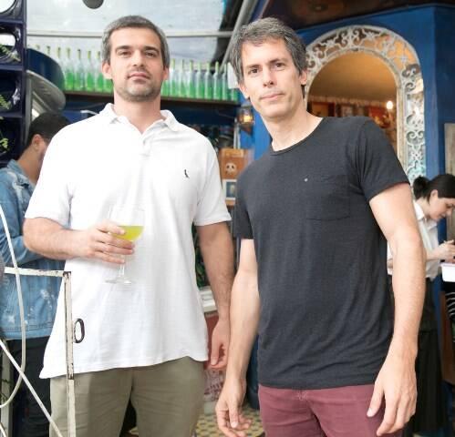 Rafael Abad e George Brailler