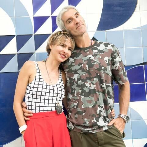 Zazá Piereck e Felipe Velloso