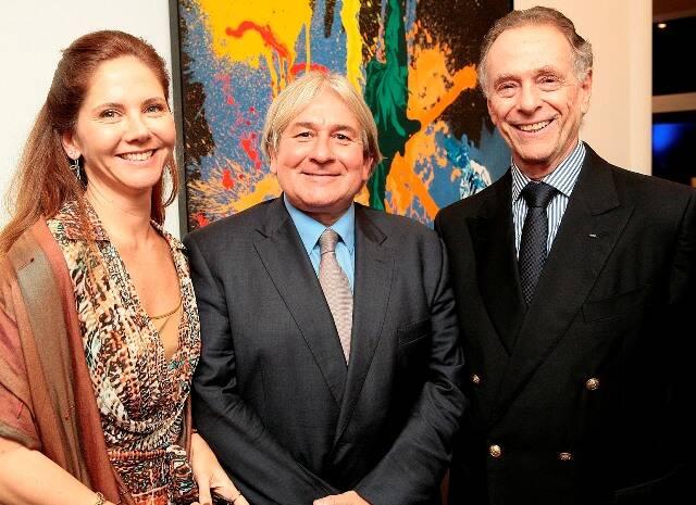 Beth Garcia, Mike Lee e Carlos Arthur Nuzmann