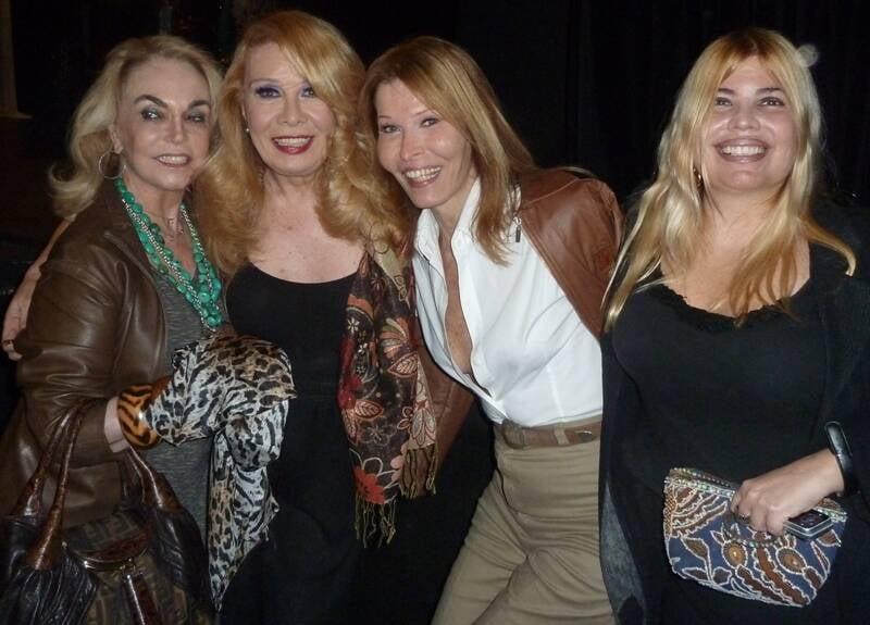 Romy di Vitty, Anna Sillos, Rogéria e Georgiana Guinle