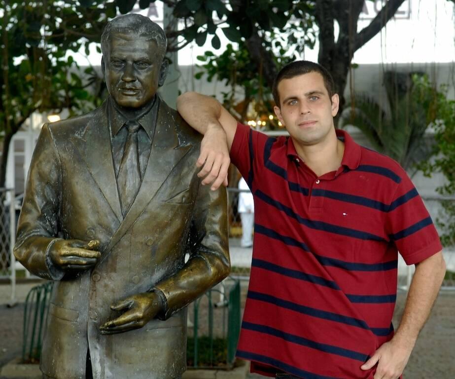 Guinle com ibrahim Sued