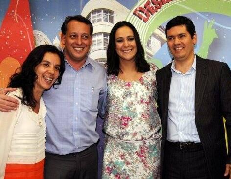 Rita Fernandes,  Antônio Pedro Filgeira de Mello , Luciana Felix e Claudio Tinoco