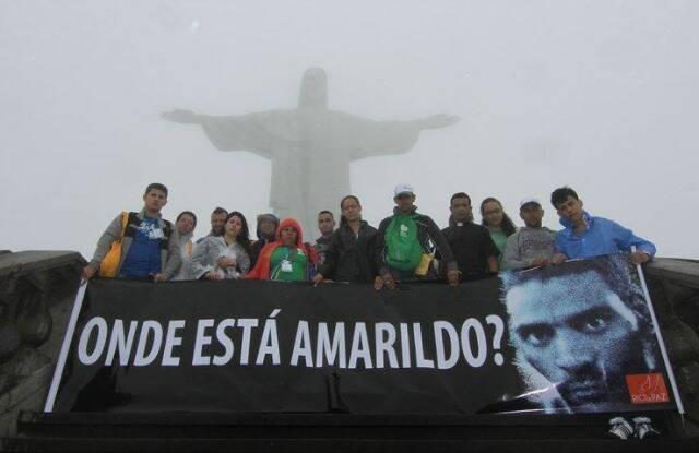 Onde está Amarildo? Onde estão os mortos do tráfico? Onde estão os presos políticos? / Fonte da foto: lulacerda.ig.com.br