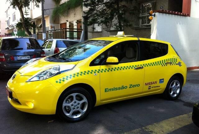Com esse aí, o Rio passa a ter a segunda maior frota de táxis elétricos do mundo / foto: divulgação
