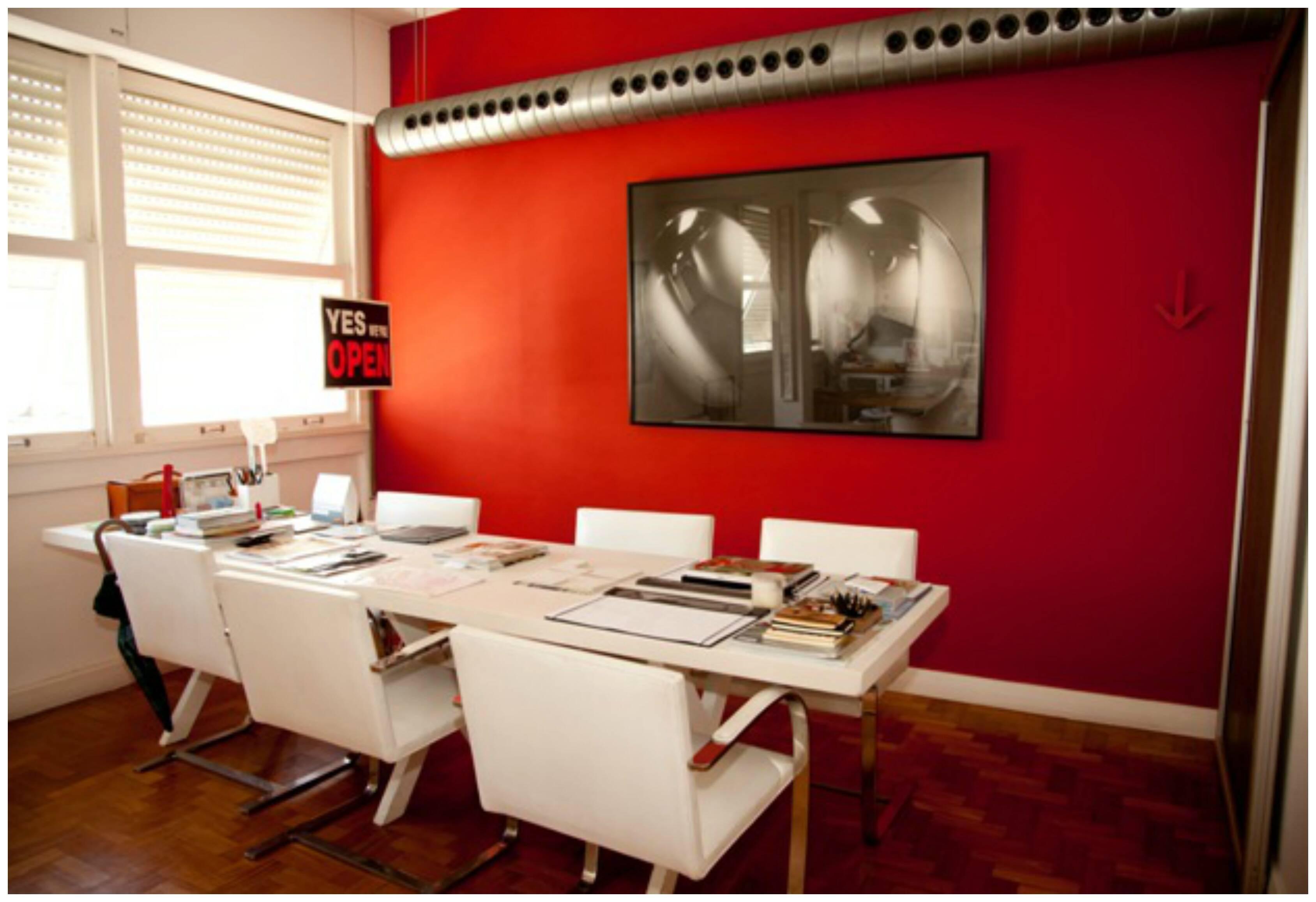 Pruzak Com Sala De Tv Parede Vermelha Id Ias Interessantes Para  -> Parede Grafiada Sala