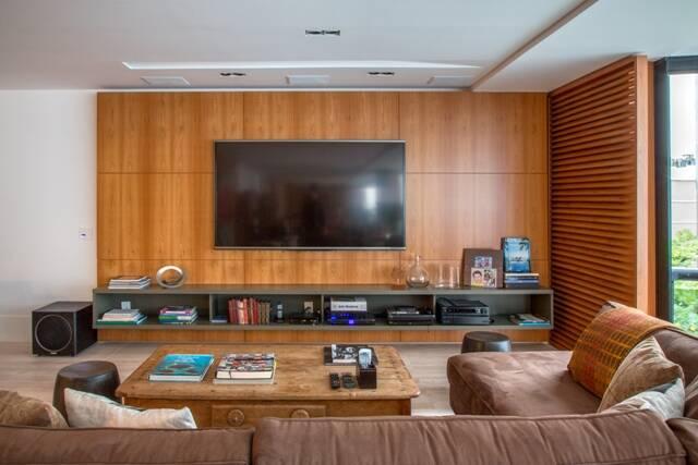 Rack Baixo Para Sala De Tv ~ época em que a TV foi inventada, ela chegou como um aparelho cheio de