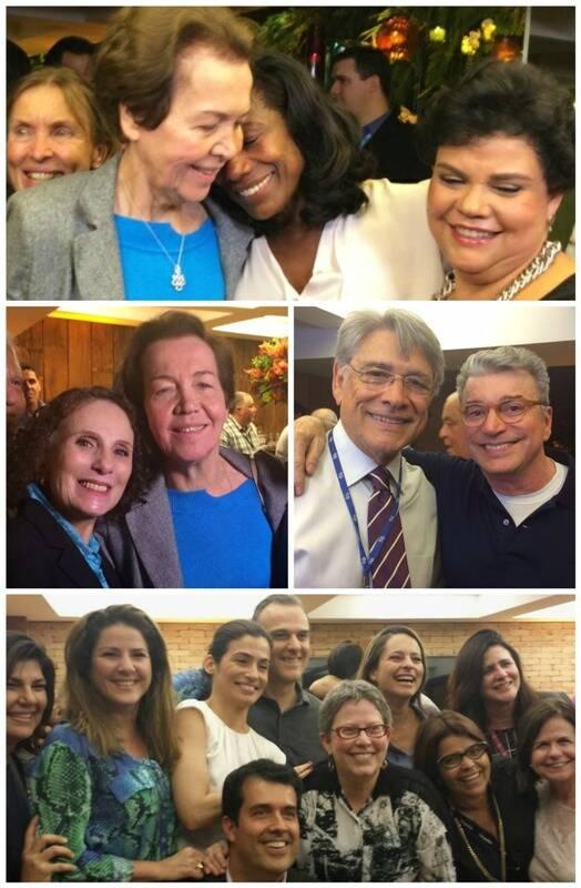 Acima, Alice, Glória Maria e ; embaixo, à esquerda, e Alice; ao lado, Sérgio Chapelin e Edney Silvestre; e, abaixo, / Fotos: divulgação