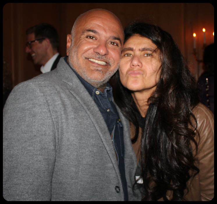 Paulo Pereira e Sonia Gonçalves / Foto: Gerson Lírio