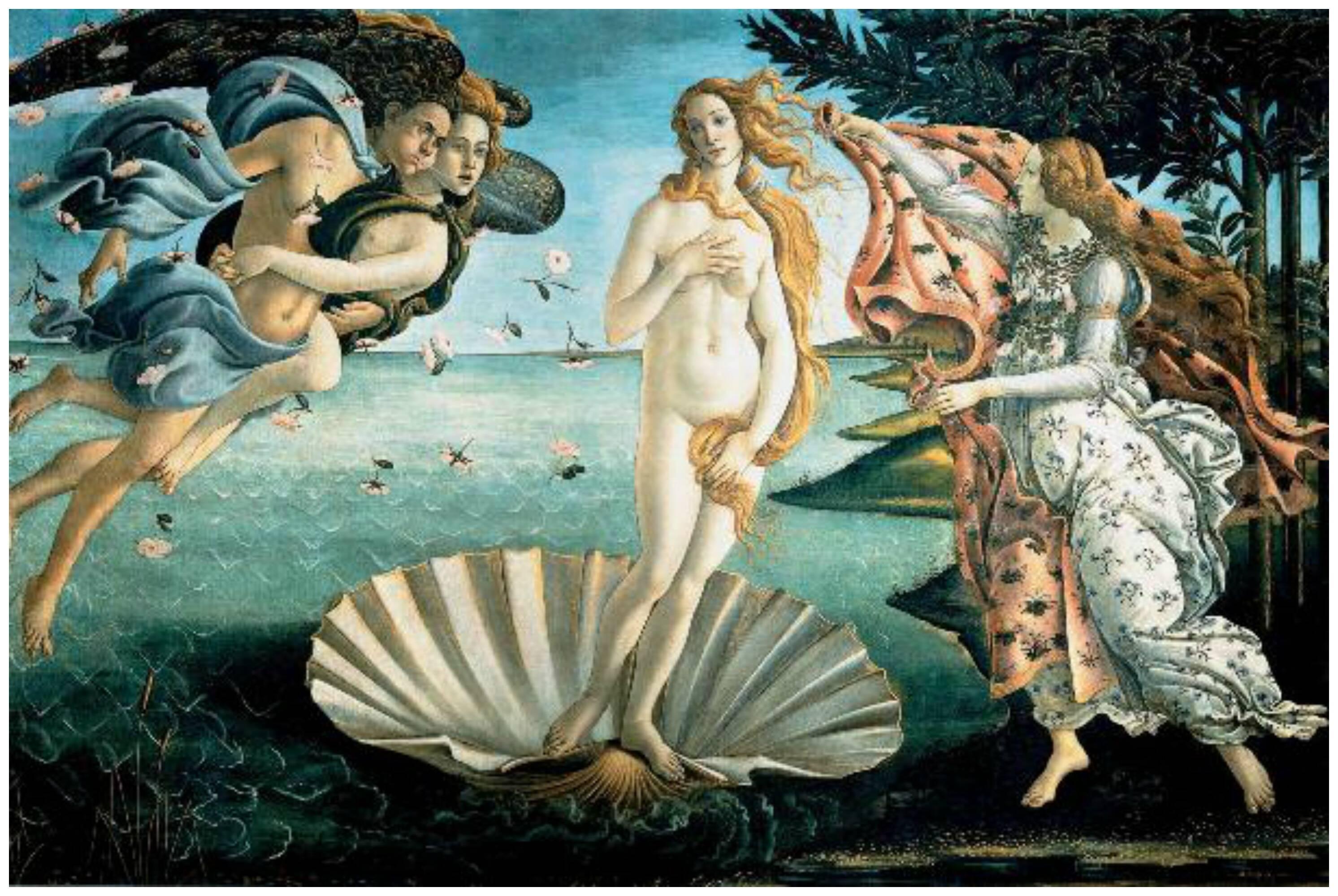 O professor Renato Noguera ( no alto) vai falar também sobre os ícones femininos da mitologia grega (acima, o quadro Nascimento de Vênus, de Botticelli) / Fotos: divulgação