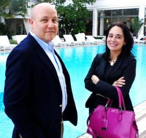 Paulo Müller e Bárbara Machado: os cirurgiões, ambos com nomes reconhecidos nacionalmente, estão à frente do I Simpósio de Cirurgia Plástica / Foto: Sergio Roitman
