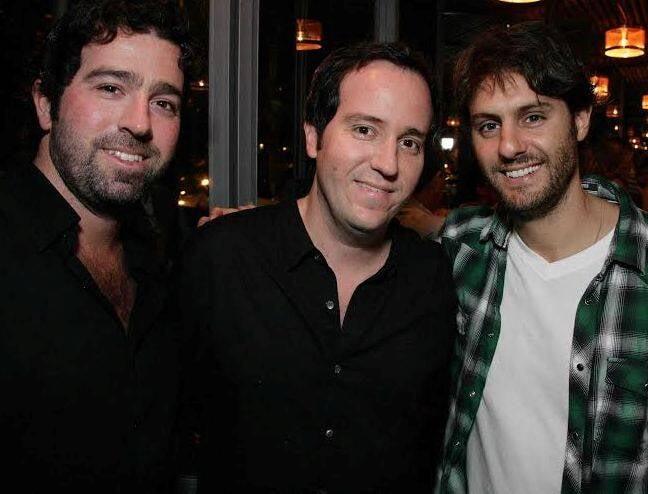 Daniel Oelsner, Fernando e Roberto Kaplan: lançadores das 'tapas' no Rio / Foto: divulgação