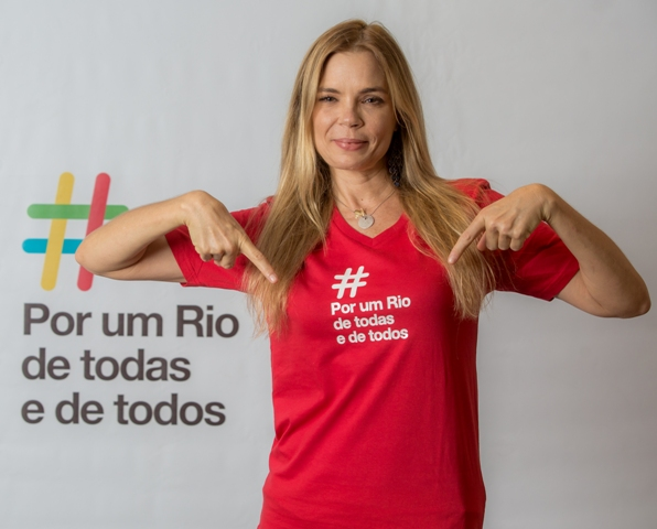 """A atriz Alexia Dechamp é uma das mais de 40 personalidades que se engajaram na campanha """"Por um Rio de todas e de todos"""" / Foto: Allan Amorim e Lucíola Villela"""