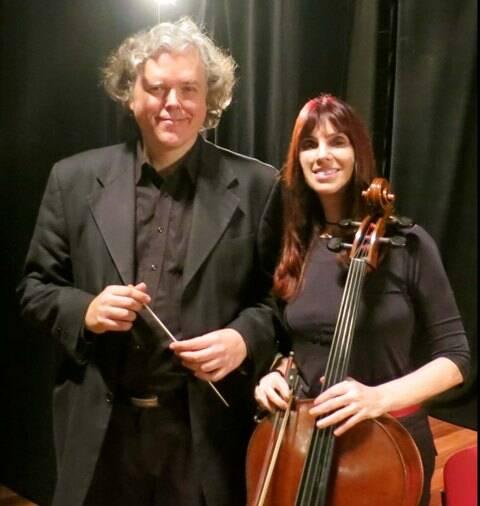 Denise Emmer e o Maestro Alexandre Schubert 1