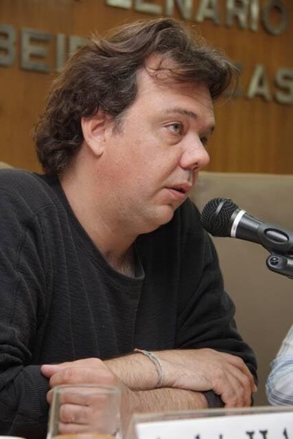 O cineasta Andres Habberger em depoimento para a Comissão da Verdade do Rio, em outubro do ano passado / Foto: divulgação