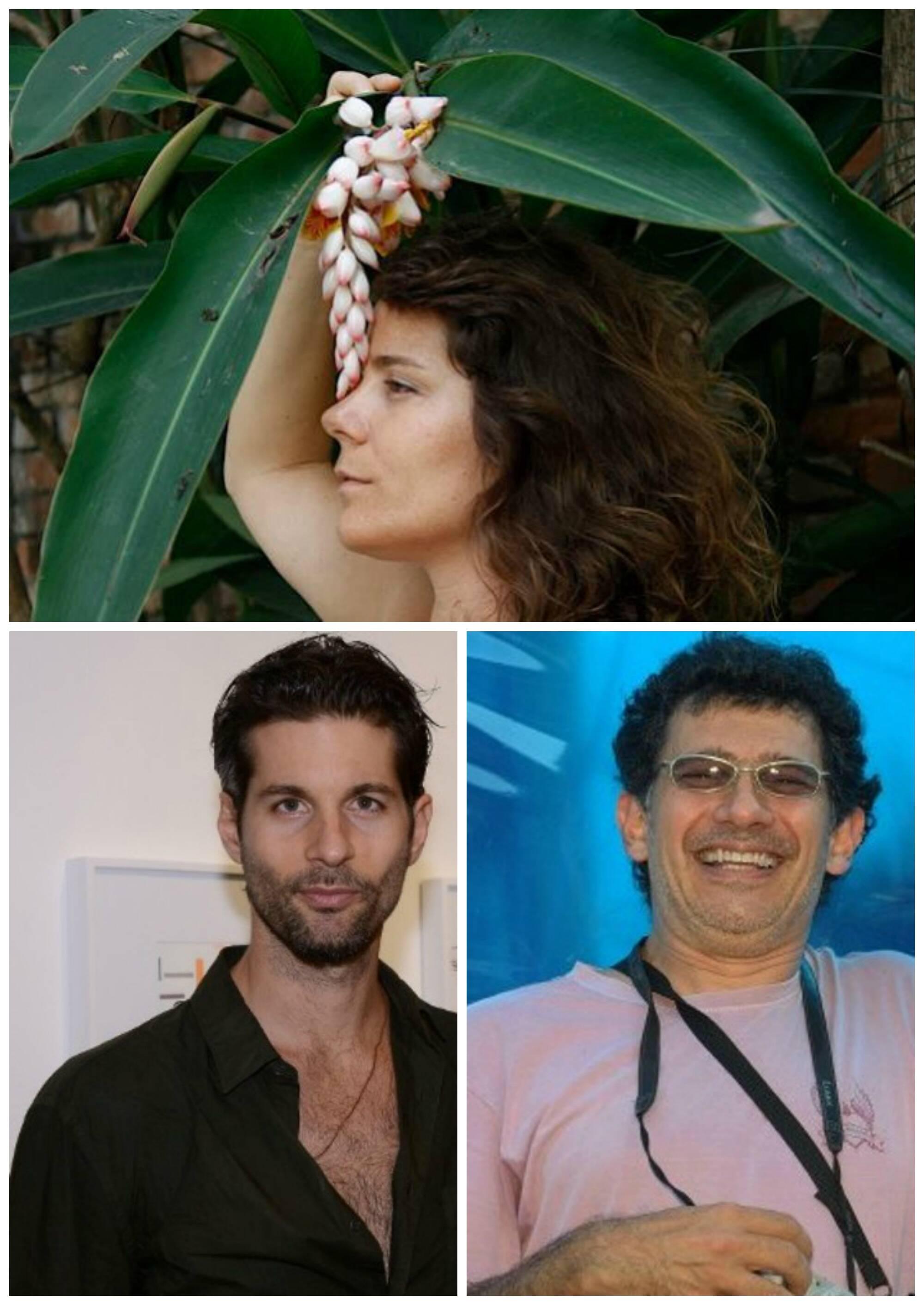 No alto, Louise Botkay; à esquerda, Lucio Salvatore; ao lado, Mario Grisolli / Fotos: divulgação