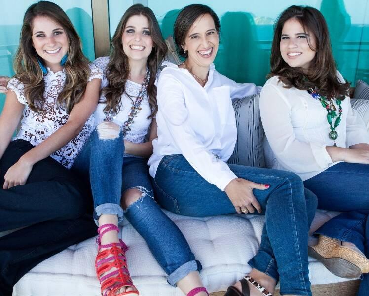 Tatiana Rudge, Alexia Marini, Luisa Herculano e Alexia Bokel/ Foto: divulgação