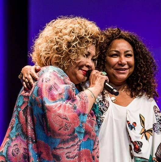 As irmãs Alcione e Solange Nazareth: contando os dias para a inauguração do novo projeto da dupla / Foto: reprodução da internet