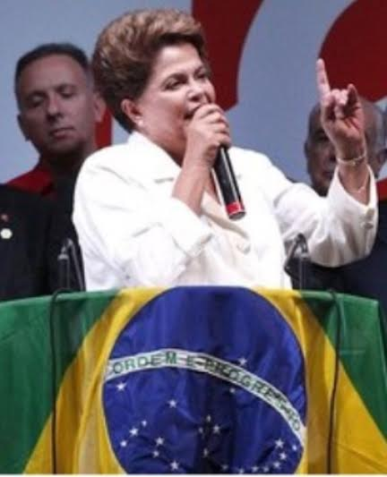 "Dilma Rousseff: a Presidente há de relativizar as ""pequenezas políticas"" pelo Brasil / Foto: IG"