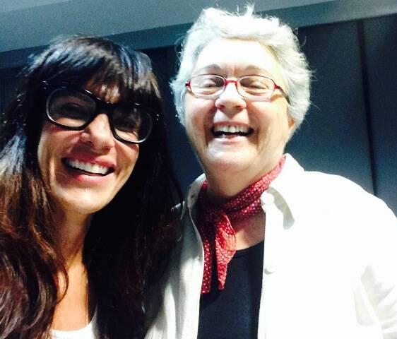 Cena de tietagem explícita: a chef Karen Couto e a jornalista Sonia Hirsch