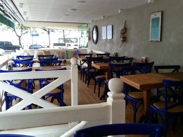 O retrofit temporário do Bar da Praia leva a assinatura de André Piva / Foto: divulgação