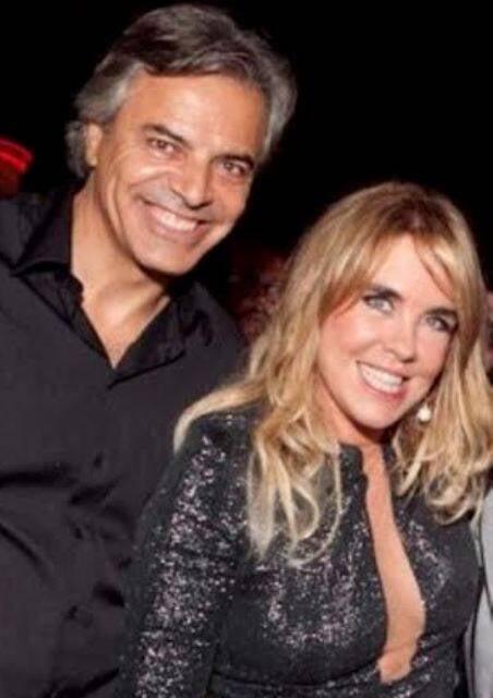 Vincent Kieffer e Lilibeth Monteiro de Carvalho: romance chega ao fim depois de alguns meses de relacionamento