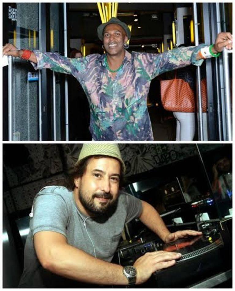Na foto acima, o recepcionista Bell Bylls, nesta foto, o DJ Marcelinho da Lua - ambos podem ser tri / Fotos: Renato Wrobel e Vera Donato
