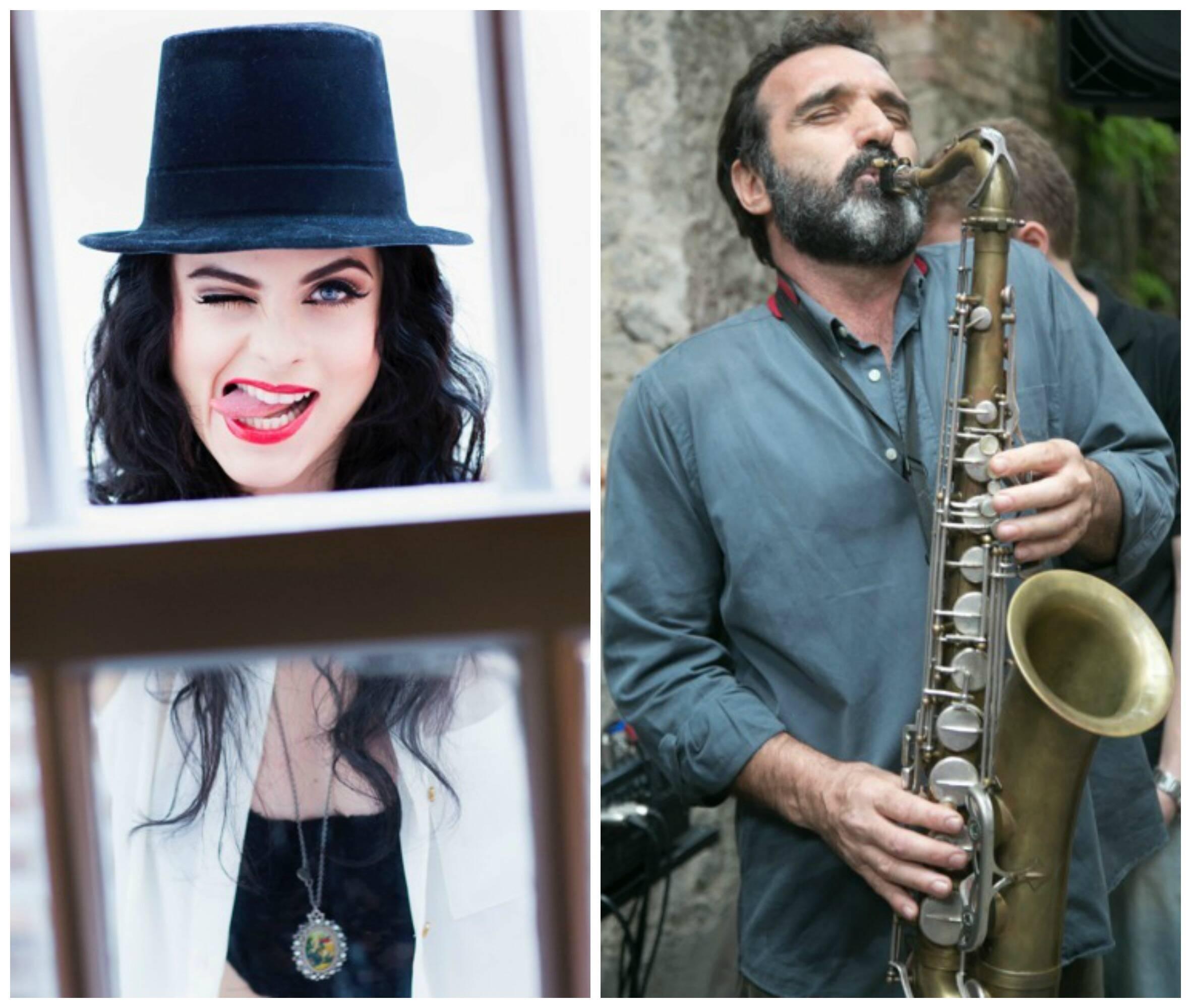 A cantora Renata Ricci encomendou ao músico Edgar Duvivier as versões para o francês das músicas que canta em seu show / Fotos: Ângelo Pastorello e Miguel Sá