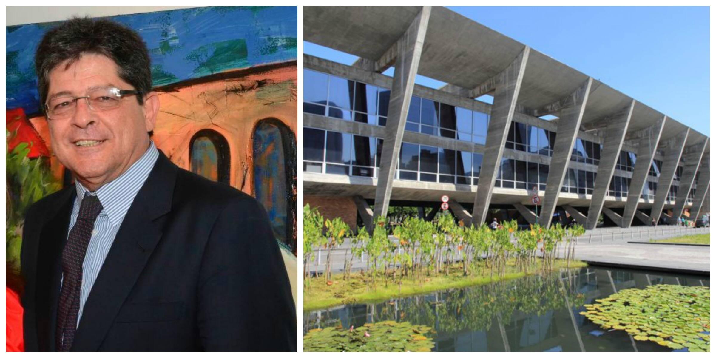 O presidente do Museu de Arte Moderna do Rio, Carlos Alberto Gouvêa Chateaubriand, apoia o projeto de dar ao design lugar de destaque na instituição / Fotos: Marco Rodrigues e divulgação