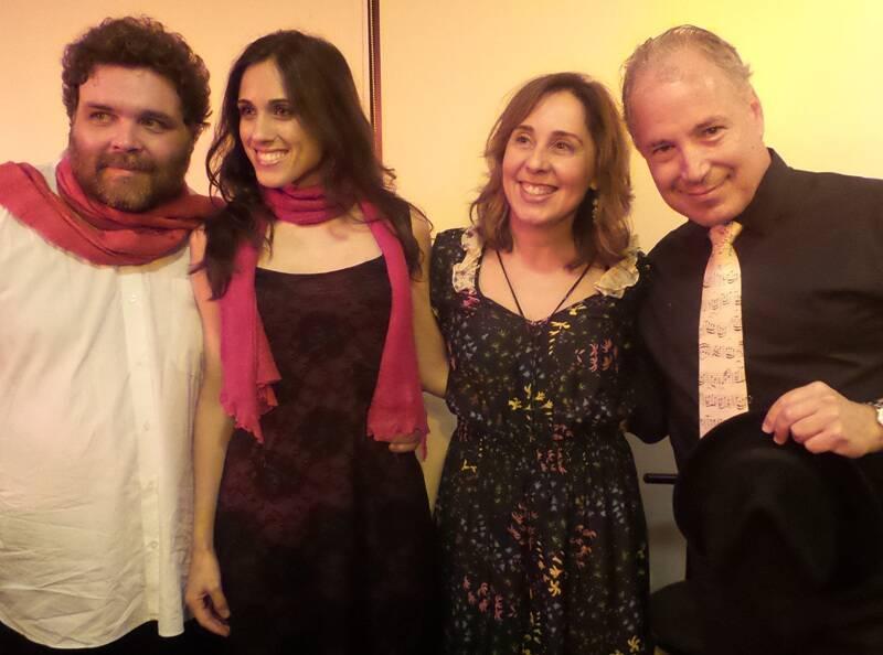Marco Goulart, Carolina Floare, Júnia Azevedo e Oren Perlin/ Foto: divulgação