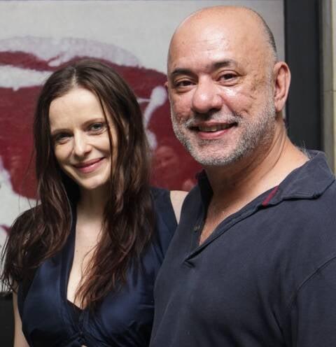 Maria Luisa Mendonça e Claudio Torres