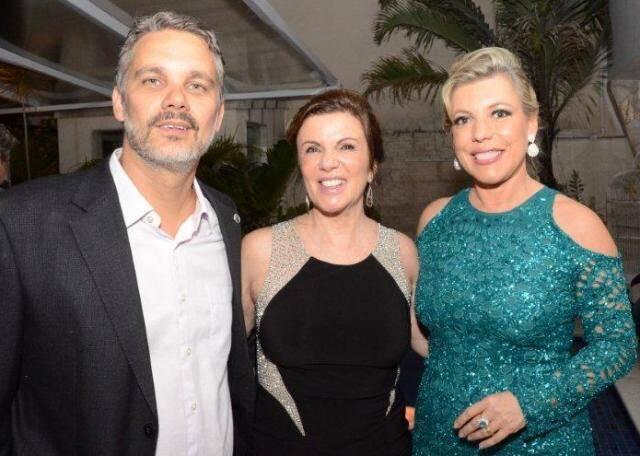 Omar Lupi, Denise Steiner e Andreia Mateus