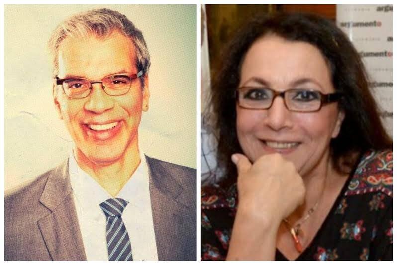 Na foto acima, Anna Sharp e Claudio Klabin; nesta foto, Celso Fonseca e Lucia Chamma: exemplos de pessoas que estão perdendo amigos no Facebook